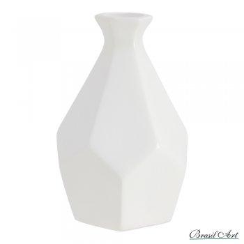 Vaso em Cerâmica Off White G