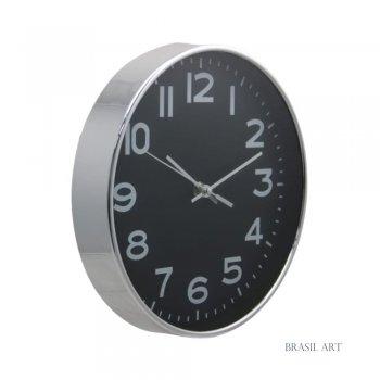 Relógio de Parede Prata P