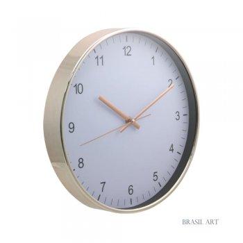 Relógio de Parede Rose Gold P