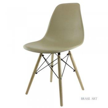 Cadeira Eames Bege