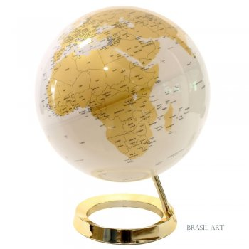 Luminária Globo Dourada
